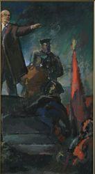 Ленин на требуне
