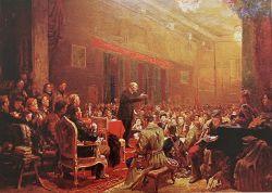 Ленин на третьем комсомольском конгрессе