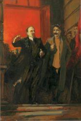 Ленин на собрании