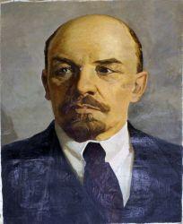 Портрет В.И Ленина