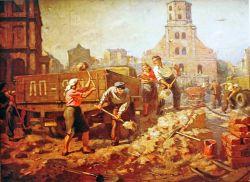 Восстановление Риги после войны